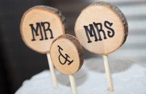 Mr & MRS in Legno: dettagli del matrimonio curati dal Wedding Planner.